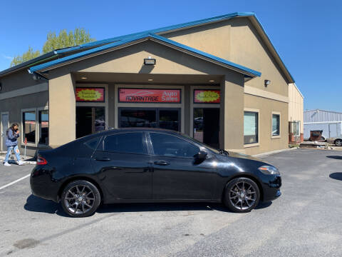2015 Dodge Dart for sale at Advantage Auto Sales in Garden City ID