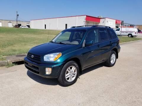 2002 Toyota RAV4 for sale at Image Auto Sales in Dallas TX