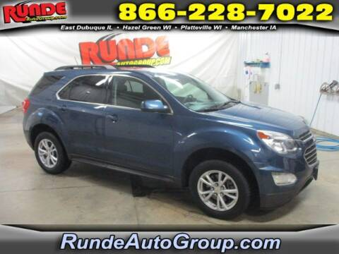 2017 Chevrolet Equinox for sale at Runde Chevrolet in East Dubuque IL