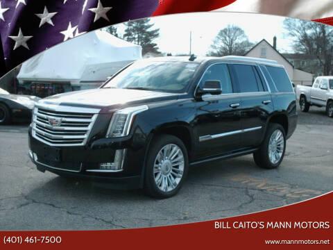 2016 Cadillac Escalade for sale at Bill Caito's Mann Motors in Warwick RI