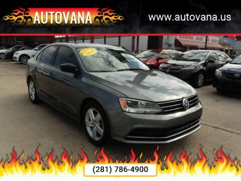 2016 Volkswagen Jetta for sale at AutoVana in Humble TX