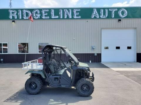 2018 Honda SXS500M2 for sale at RIDGELINE AUTO in Chubbuck ID