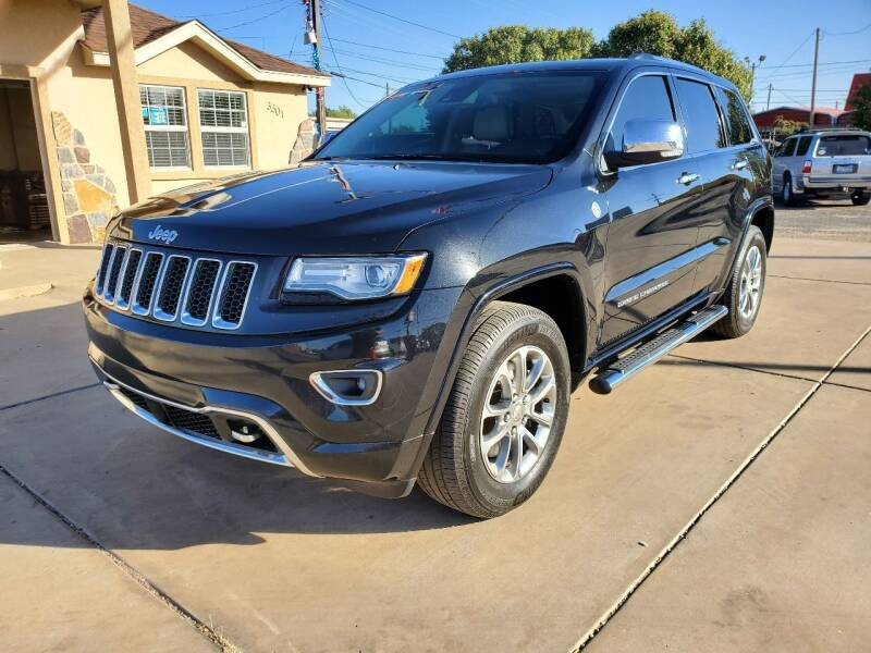 2015 Jeep Grand Cherokee for sale at Texas Premiere Autos in Amarillo TX