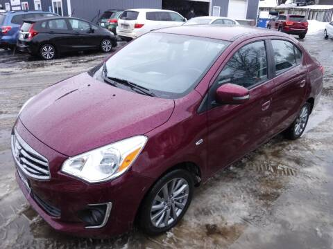 2017 Mitsubishi Mirage G4 for sale at J & K Auto - J and K in Saint Bonifacius MN
