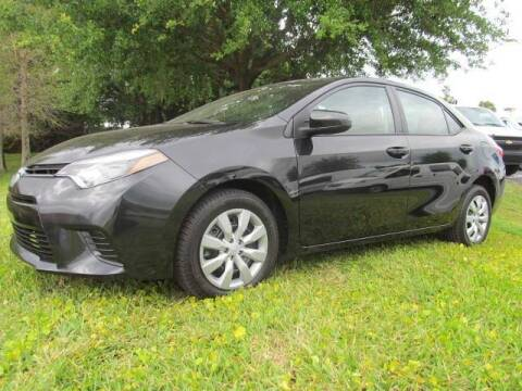 2016 Toyota Corolla for sale at Blue Book Cars in Sanford FL
