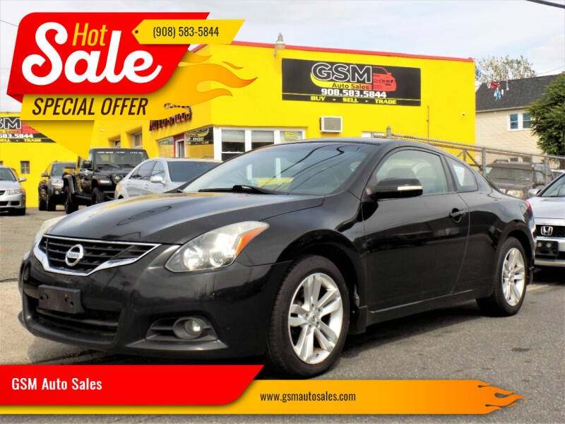 2011 Nissan Altima for sale at GSM Auto Sales in Linden NJ