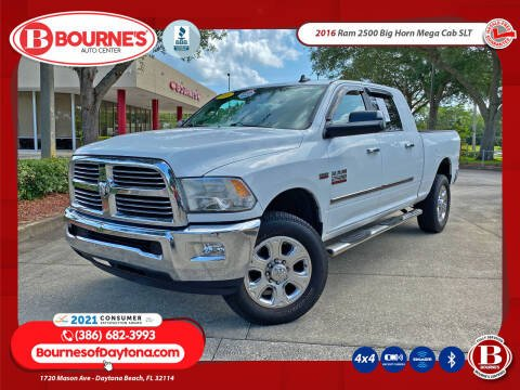 2016 RAM Ram Pickup 2500 for sale at Bourne's Auto Center in Daytona Beach FL