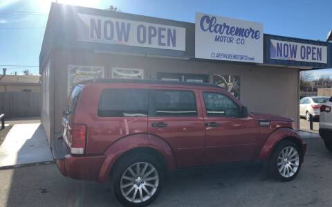 2007 Dodge Nitro for sale at Claremore Motor Company in Claremore OK