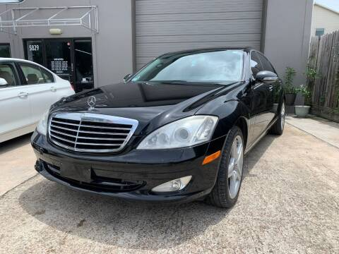 2007 Mercedes-Benz S-Class for sale at PARK PLACE AUTO SALES in Houston TX