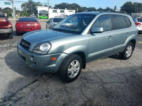 2007 Hyundai Tucson for sale at Autos by Tom in Largo FL
