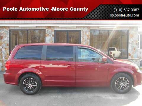 2015 Dodge Grand Caravan for sale at Poole Automotive in Laurinburg NC