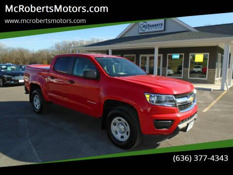 2017 Chevrolet Colorado for sale at McRobertsMotors.com in Warrenton MO