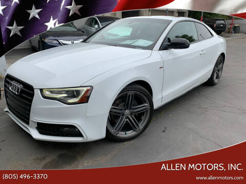 2014 Audi A5 for sale at Allen Motors, Inc. in Thousand Oaks CA