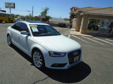 2013 Audi A4 for sale at Team D Auto Sales in St George UT