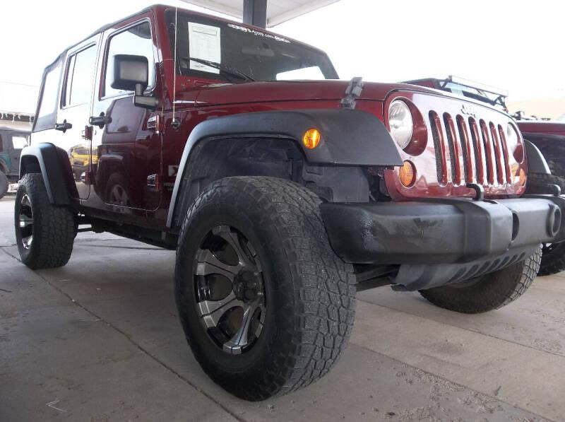 2007 Jeep Wrangler Unlimited for sale at Broken Arrow Motor Co in Broken Arrow OK