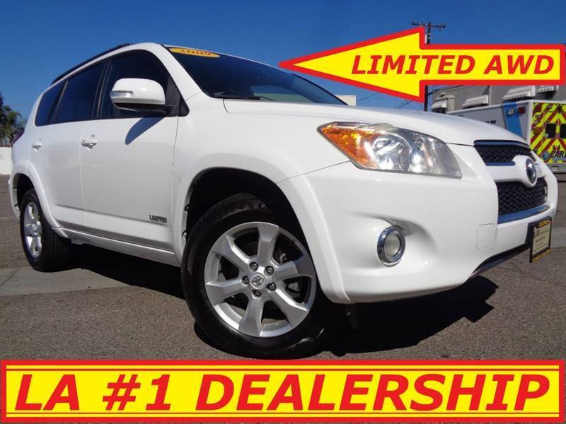 2009 Toyota RAV4 for sale at ALL STAR TRUCKS INC in Los Angeles CA