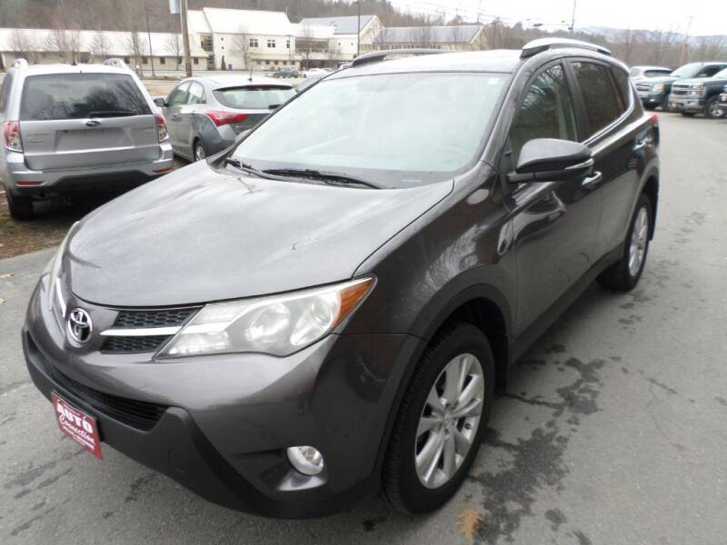 2013 Toyota RAV4 for sale at AUTO CONNECTION LLC in Springfield VT