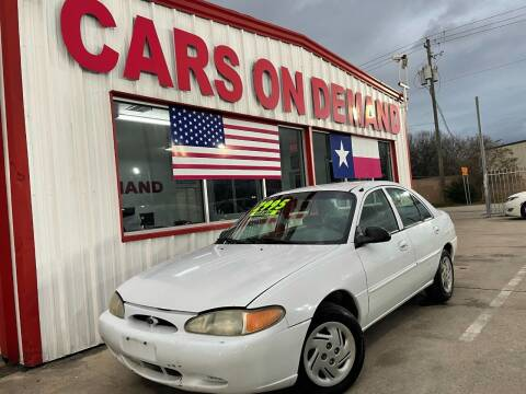 2001 Ford Escort for sale at Cars On Demand in Pasadena TX