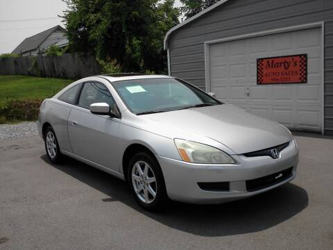 2003 Honda Accord for sale at Marty's Auto Sales in Lenoir City TN