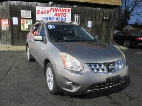 2012 Nissan Rogue for sale at EZ Finance Auto in Calumet City IL