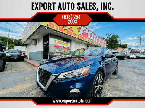 2021 Nissan Altima for sale at EXPORT AUTO SALES, INC. in Nashville TN