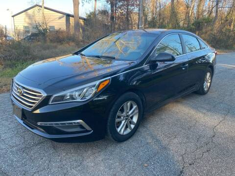 2015 Hyundai Sonata for sale at Speed Auto Mall in Greensboro NC