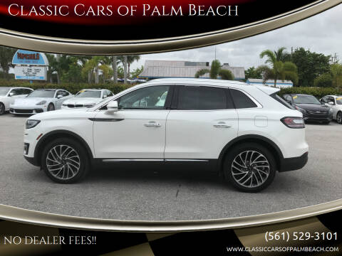 2020 Lincoln Nautilus for sale at Classic Cars of Palm Beach in Jupiter FL