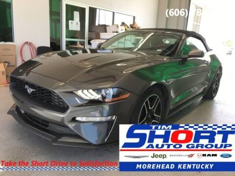 2020 Ford Mustang for sale at Tim Short Chrysler in Morehead KY