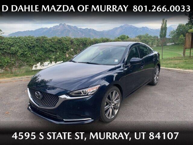 2018 Mazda MAZDA6 for sale at D DAHLE MAZDA OF MURRAY in Salt Lake City UT