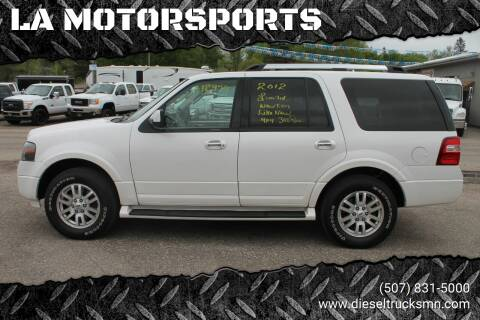 2012 Ford Expedition for sale at LA MOTORSPORTS in Windom MN
