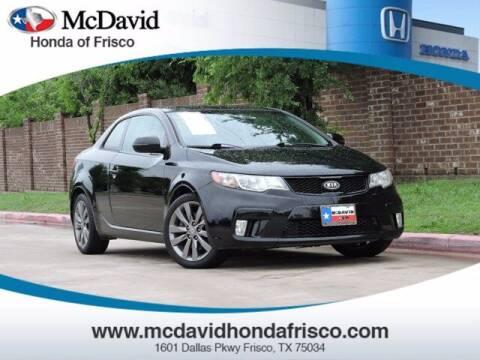 2012 Kia Forte Koup for sale at DAVID McDAVID HONDA OF IRVING in Irving TX