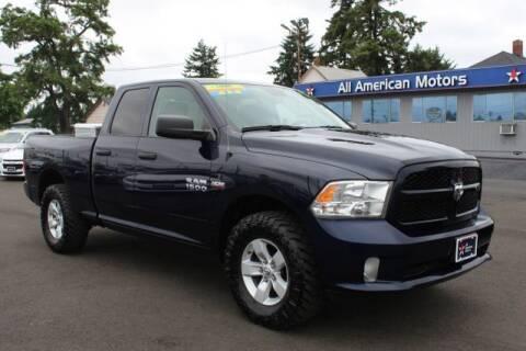 2017 RAM Ram Pickup 1500 for sale at All American Motors in Tacoma WA
