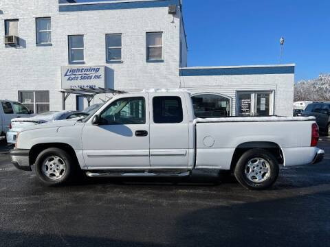 2003 Chevrolet Silverado 1500 for sale at Lightning Auto Sales in Springfield IL