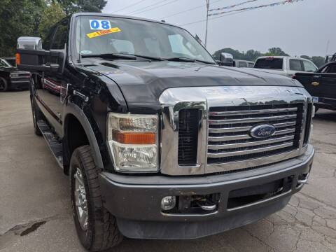 2008 Ford F-250 Super Duty for sale at GREAT DEALS ON WHEELS in Michigan City IN