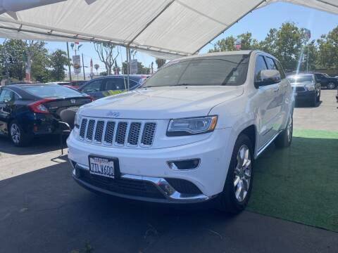 2015 Jeep Grand Cherokee for sale at San Jose Auto Outlet in San Jose CA