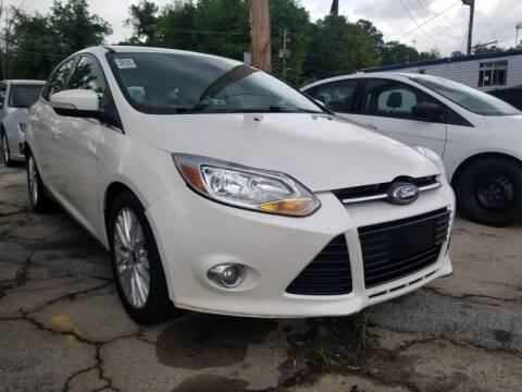 2012 Ford Focus for sale at DREWS AUTO SALES INTERNATIONAL BROKERAGE in Atlanta GA