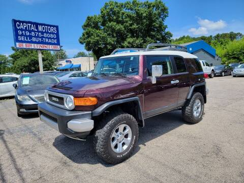 2007 Toyota FJ Cruiser for sale at Capital Motors in Raleigh NC