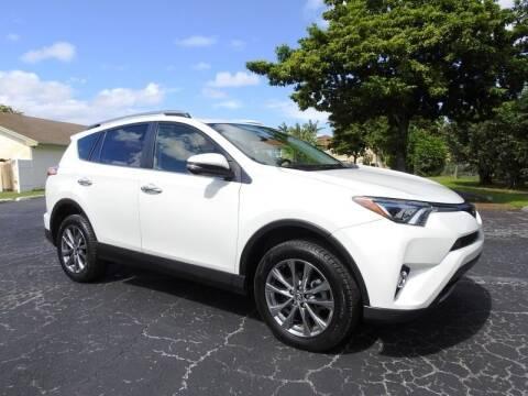 2018 Toyota RAV4 for sale at SUPER DEAL MOTORS 441 in Hollywood FL