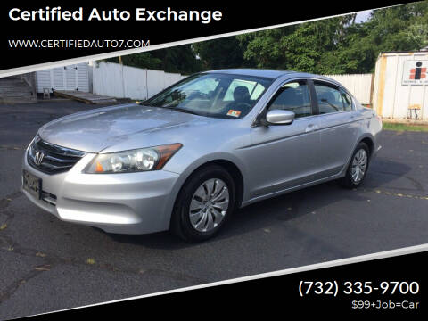 2011 Honda Accord for sale at Certified Auto Exchange in Keyport NJ