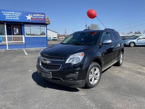 2012 Chevrolet Equinox for sale at All American Auto Sales LLC in Nampa ID
