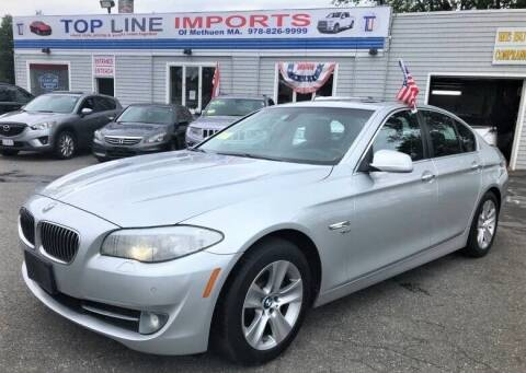 2012 BMW 5 Series for sale at Top Line Import of Methuen in Methuen MA