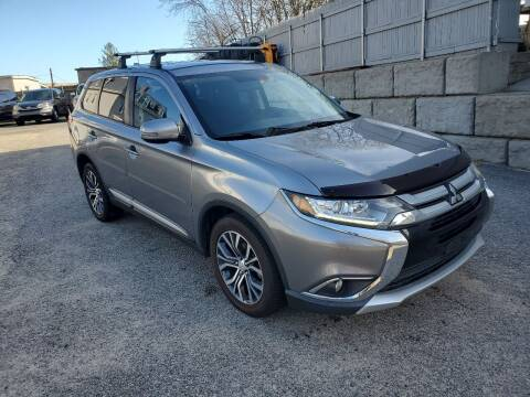 2017 Mitsubishi Outlander for sale at Fortier's Auto Sales & Svc in Fall River MA