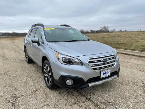 2017 Subaru Outback for sale at Alan Browne Chevy in Genoa IL