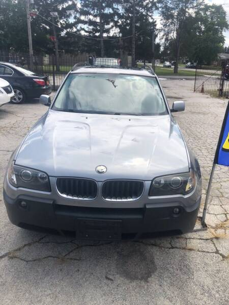 2005 BMW X3 for sale at Carfast Auto Sales in Dolton IL