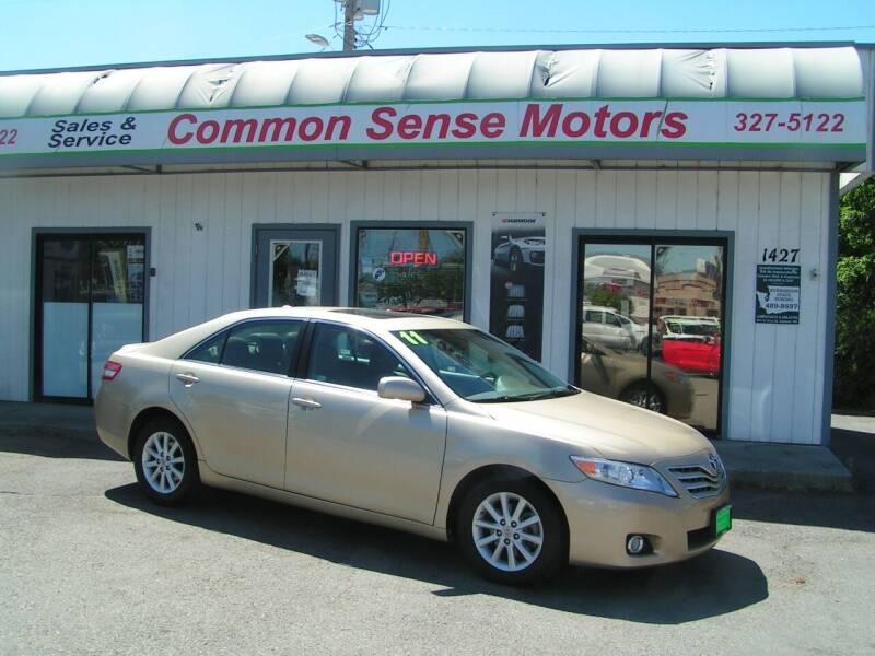 2011 Toyota Camry for sale at Common Sense Motors in Spokane WA