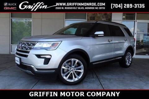 2019 Ford Explorer for sale at Griffin Buick GMC in Monroe NC