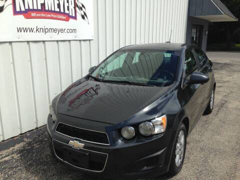 2015 Chevrolet Sonic for sale at Team Knipmeyer in Beardstown IL