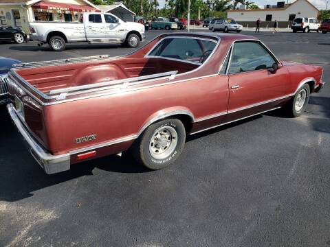 1978 Chevrolet El Camino for sale at ANYTHING ON WHEELS INC in Deland FL