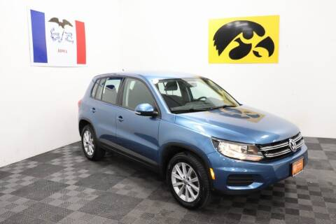 2017 Volkswagen Tiguan for sale at Carousel Auto Group in Iowa City IA