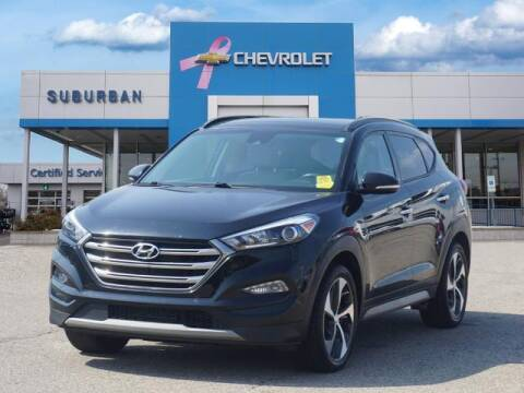2017 Hyundai Tucson for sale at Suburban Chevrolet of Ann Arbor in Ann Arbor MI